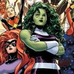 """Marvel Launches All-Female Avengers Team """"A-Force"""""""