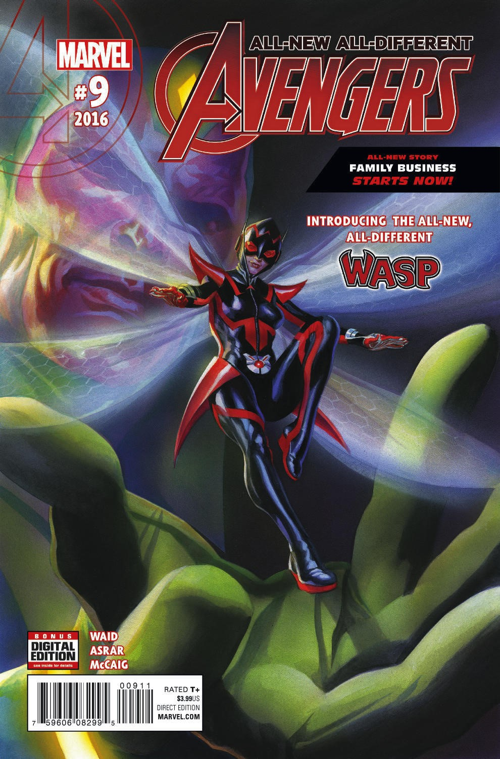 All New All Different Avengers Vol 1 2: Who Is The All-New All-Different Wasp?