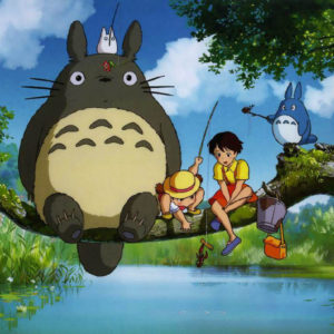 "Mei and Satsuki from ""My Neighbor Totoro"""