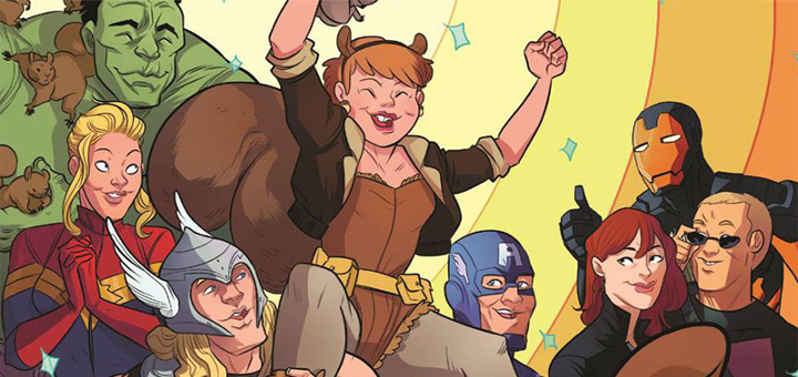 Squirrel Girl and the New Warriors