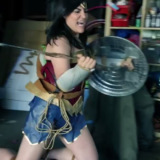Homemade Wonder Woman