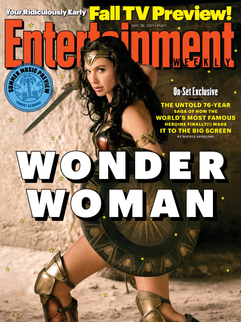 Entertainment Weekly - Wonder Woman Cover